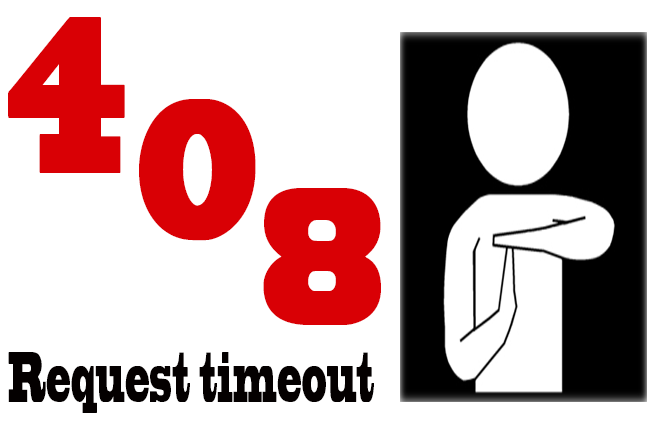 خطای HTTP Error 408 - Request Timeout